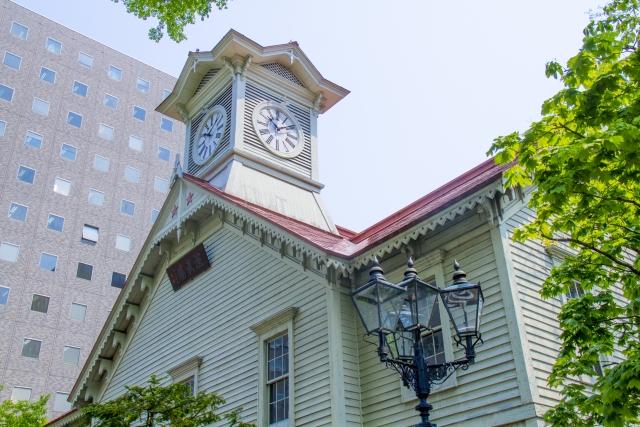 北海道札幌の時計台