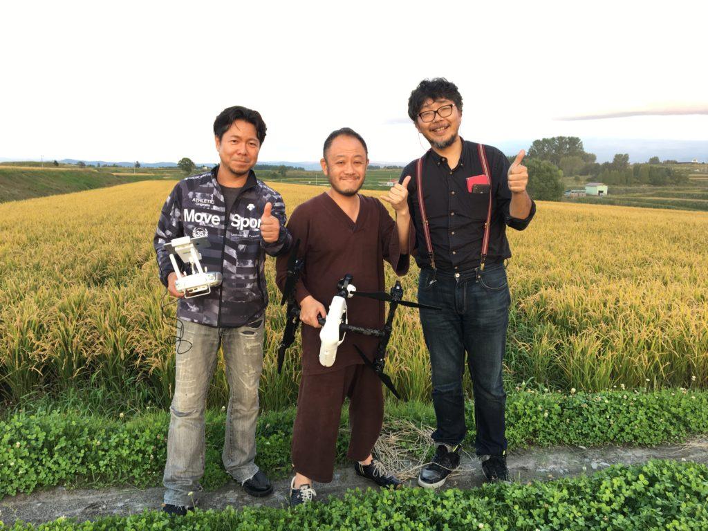 農家さんと勝俣さん