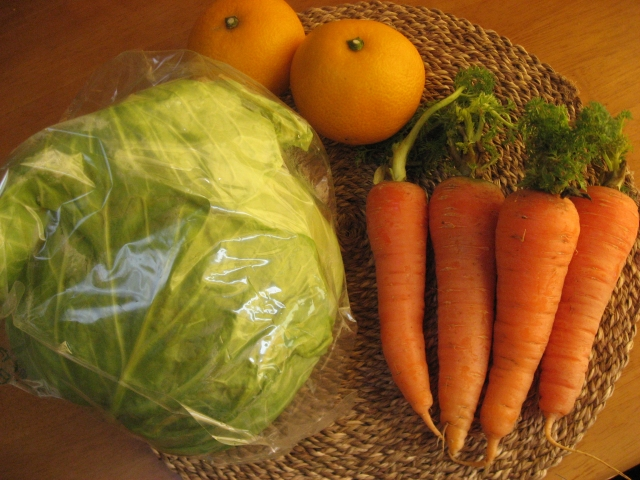 産地直送野菜の画像